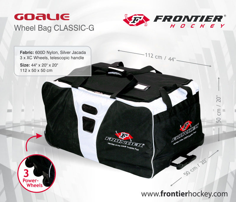 2727e6748da Brankářská taška Frontier Forceback Wheel SR